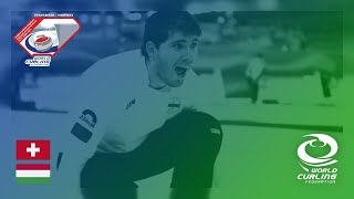 Switzerland v Hungary - round robin - World Mixed Doubles Curling Championship 2019