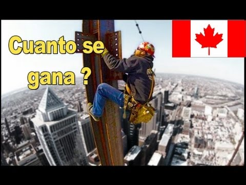 Salarios en Canadá, del más alto al más bajo, cuánto pagan y de qué