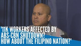 What is 11,000  workers of ABS-CBN  compared to the entire nation who may have been abused by the network if allegations against it were indeed true?  Read more: https://newsinfo.inquirer.net/1230245/11k-workers-affected-by-abs-cbn-shutdown-how-about-the-filipino-nation#ixzz6EHvJXXpU Follow us: @inquirerdotnet on Twitter   inquirerdotnet on Facebook