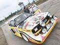 Legendaarinen B-ryhmän Audi S1 quattro & Hannu Mi...