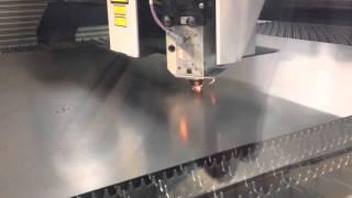 Laser Cutting 22 Gauge Steel