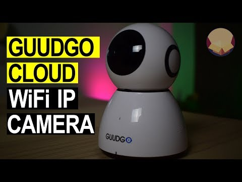 Guudgo GD-SC03 WIFI IP camera Review! Unboxing and \
