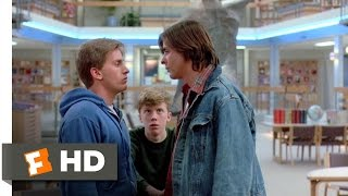 The Breakfast Club (5/8) Movie CLIP - Andrew and Bender Fight (1985) HD