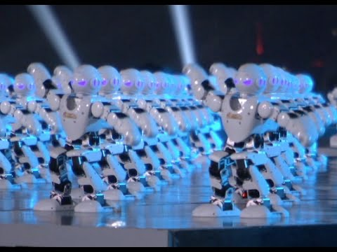 A Troupe Of540 Dancing Robots Is The Best Way To Celebrate The Lunar New Year