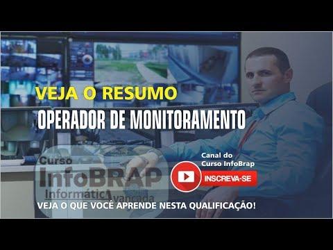 curso operador de monitoramento, curso fiscal de loja, curso operador de monitoramento cftv