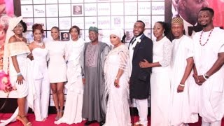 RMD, GENEVIEVE, SOLA SOBOWALE ATTEND THE PREMIERE OF 'THE WEDDING PARTY'