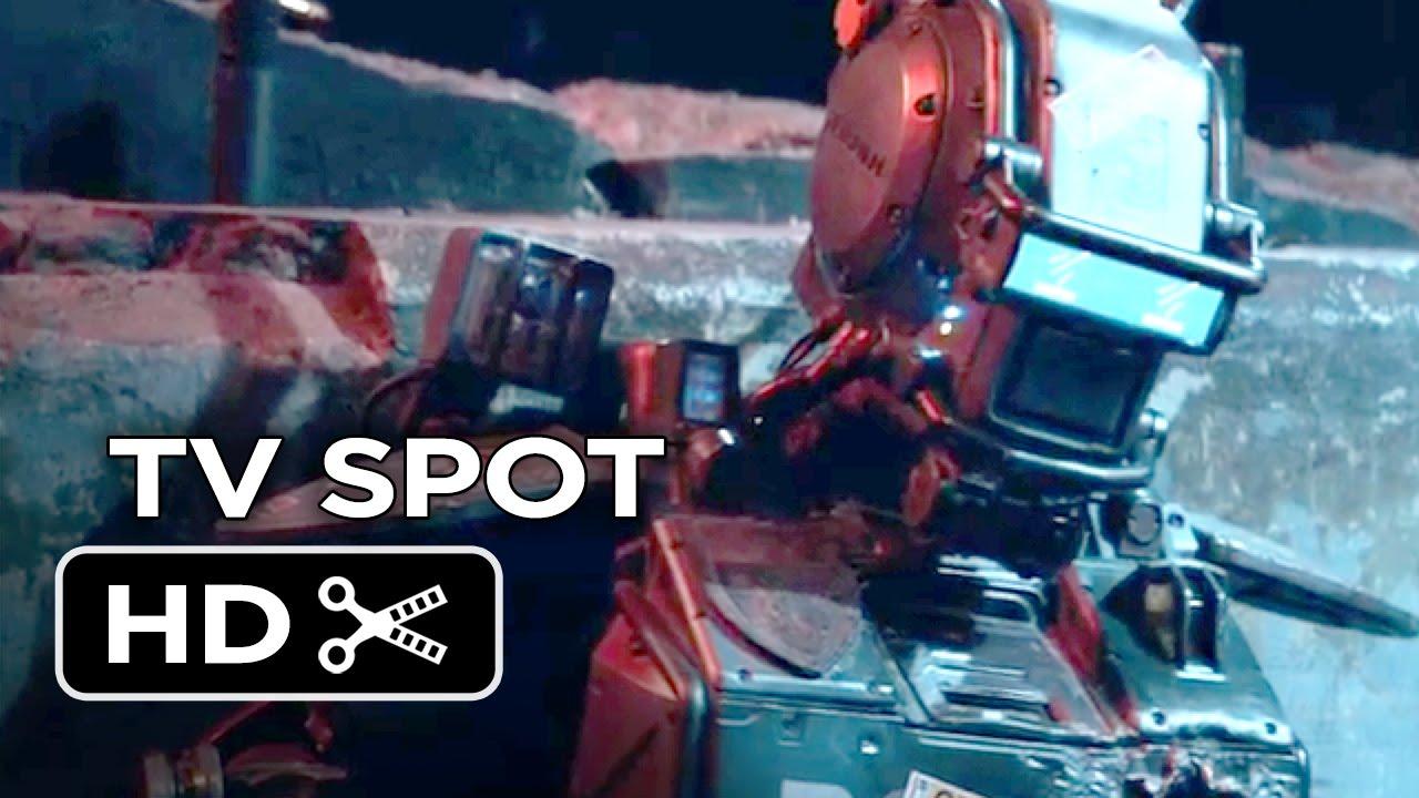Chappie TV SPOT – New Creation (2015) – Hugh Jackman, Dev Patel Robot Movie HD