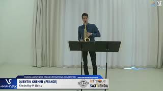 Quentin Gnemmi plays Xiwind by P.Geiss #adolphesax