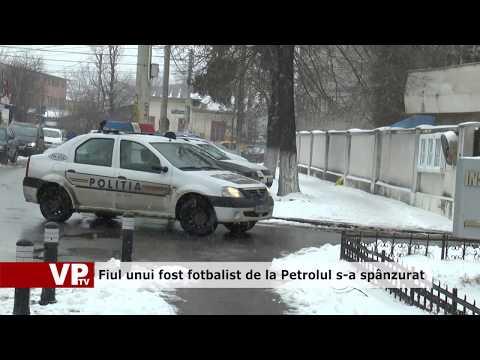 Fiul unui fost fotbalist de la Petrolul s-a spânzurat