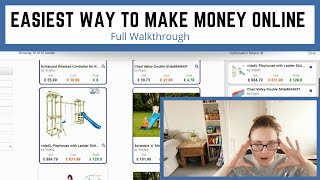 Easiest Way To Make Money Online For FREE | Selling On Ebay With No Stock | Full Walkthrough