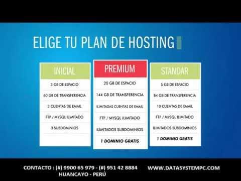 Paginas Web en Huancayo, Diseño web en Huancayo