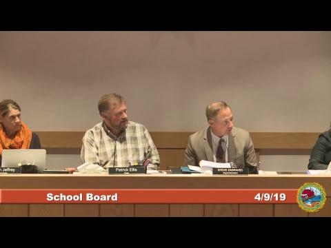 School Board 4.9.19