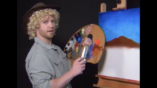 Let's PAINT with AUSSIE BOB ROSS!
