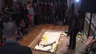 Performance y Concierto del Pintor cubano Alberto Lescay en Casa Lamm