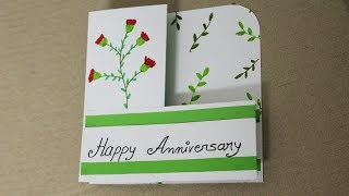 DIY Anniversary Card for Parents - Handmade Cards for Anniversary