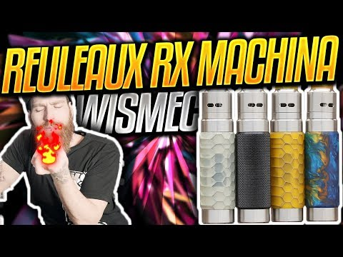 YouTube Video zu Wismec RX Machina 20700 Mech Kit mit Guillotine RDA