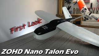 ZOHD Nano Talon Evo First Look • Possibly the Best FPV Plane Available