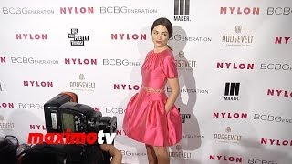 КРИСТАЛ РИД, Crystal Reed NYLON & BCBGeneration Young Hollywood Party Red Carpet