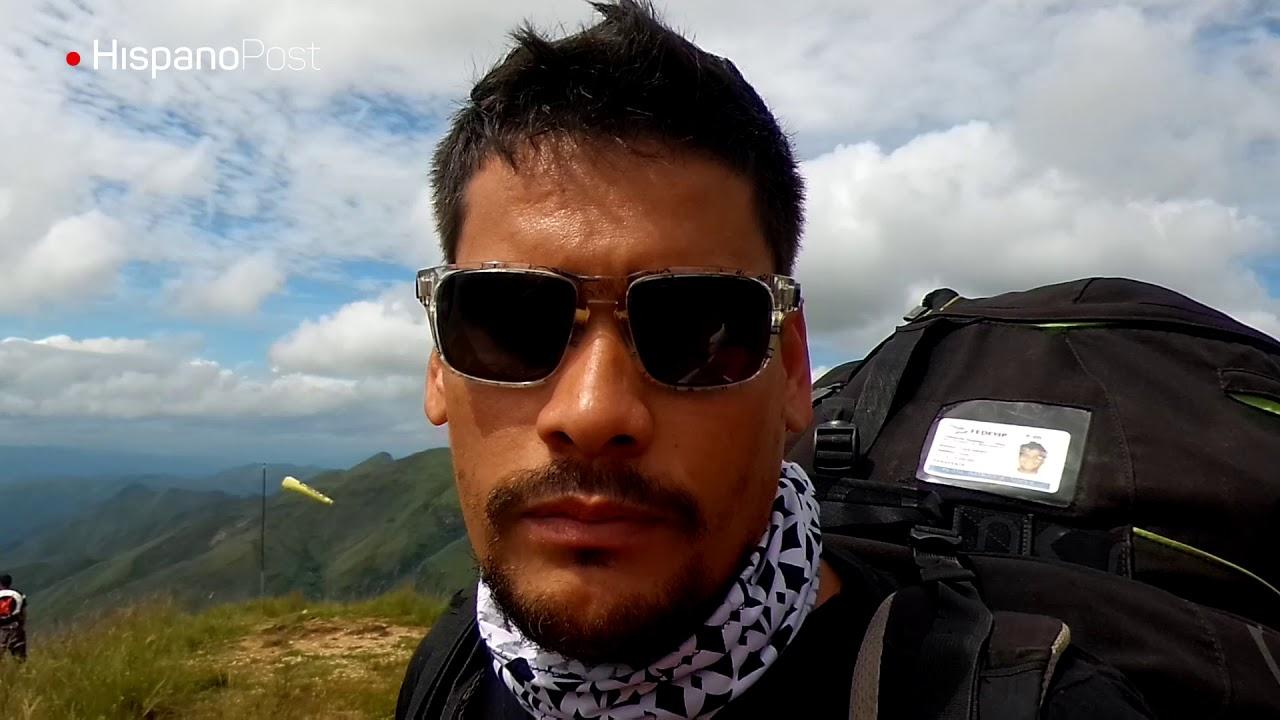 """HispanoPost voló en parapente sobre el """"jardín"""" de Venezuela"""