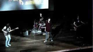 Long Distance performing Crying Lightning (Arctic Monkeys)