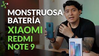 Xiaomi Redmi Note 9, UNBOXING el hermano pequeño con MONSTRUOSA batería de 5020 mAh