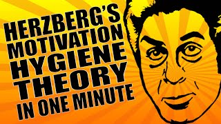 Motivation - Herzberg's Theory