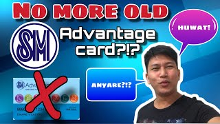 NEW SM ADVANTAGE CARD DESIGN: EXCLUSIVELY FOR LOYAL CUSTOMERS?!? ANG GANDA NUNG NEW CARD!