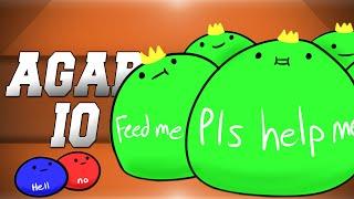 Agario! - THE YOUTUBE GAME! (Agar.io Funny Moments)