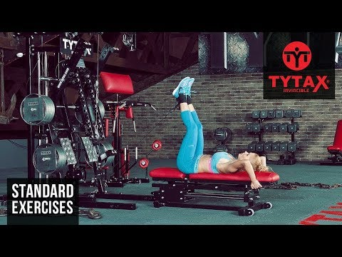 Cable Lying Leg Raise | TYTAX® M2