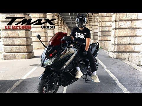 TMAX 530 CRASH WHEELING : LE RETOUR