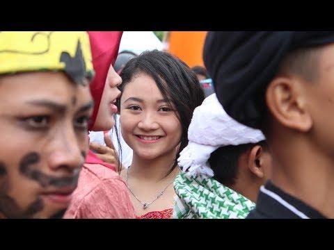 Kreatifitas Karnaval Raimuna Pramuka Jawa Barat Ke XIII tahun 2017