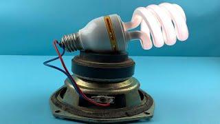 Free Energy Generator Light Bulb