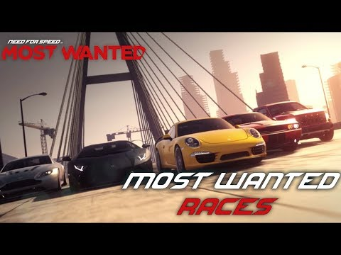 Need For Speed: Most Wanted (2012) - Most Wanted Races & Credits  (PC)