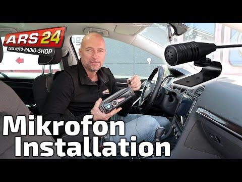 Bluetooth-Mikrofon im Auto installieren | TUTORIAL | ARS24.com