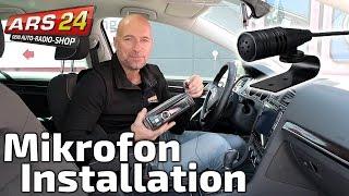 Bluetooth Mikrofon im Auto installieren | ARS24