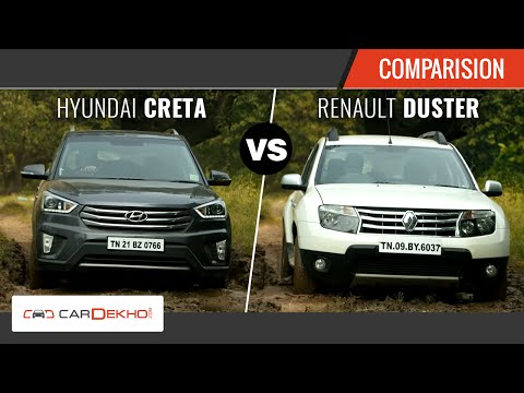 Creta vs Duster - The Perfect SUV Face-off | CarDekho.com