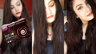Godrej Expert Rich Creme Hair Colour Review | Dark Brown Only Rs. 30 |Anusha Beauty