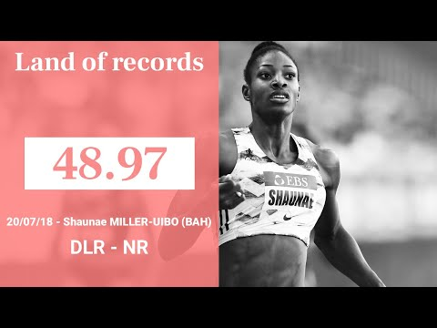 HerculisEBS Monaco 2018 - 400m - 48.97 - Shaunae MILLER-UIBO | Land of records