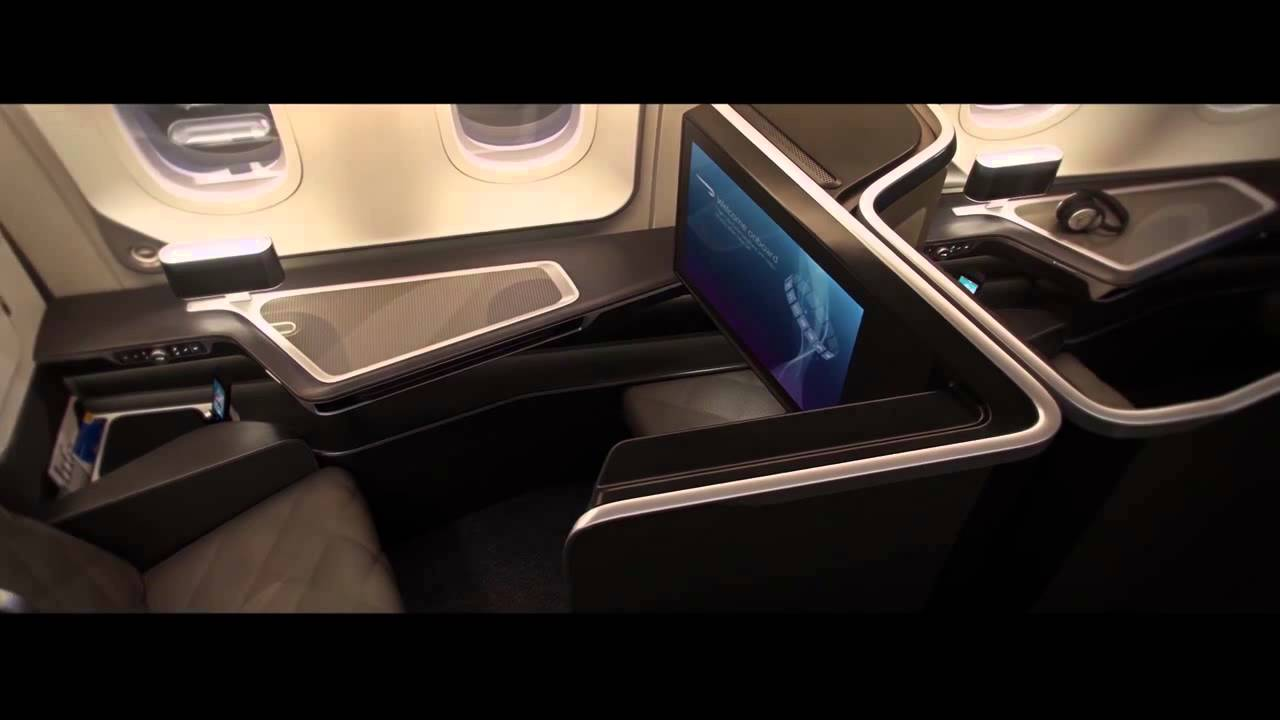 787-9 Dreamliner First class – British Airways