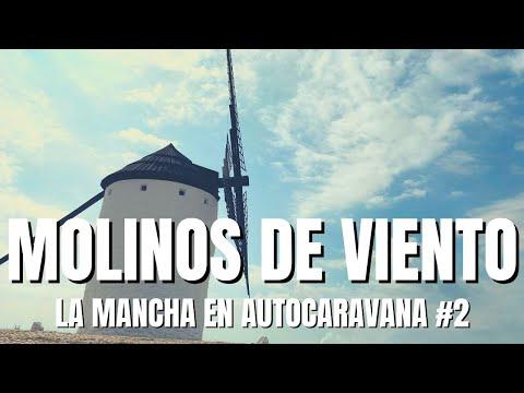 La Mancha En Autocaravana: Los Molinos De La Mancha, Vlog 2 - Fiesta De Cumpleaños