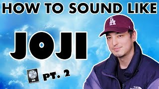 "How To Sound Like JOJI   ""Sanctuary"" Vocal Effect   Logic Pro X"