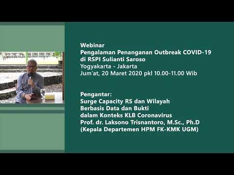 Pengalaman Penanganan Outbreak COVID-19 Di RSPI Sulianti Saroso