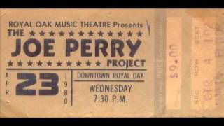 The Joe Perry Project Let The Music Do The Talking Live 1980