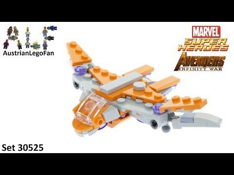 Vidéo LEGO Marvel Super Heroes 30525 : Le navire des Gardiens (Polybag)