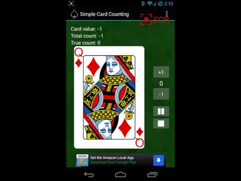 Video of Simple Card Counting