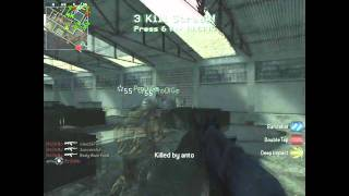 Call Of Duty 4 TDM On Vacant By OzNo Using Ak47 COD4 Gameplay/Commentary