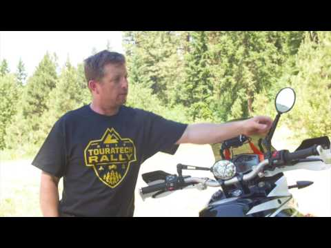 KTM 1090 Adventure R: Touratech Adjustable Folding Mirrors