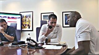 Magic Johnson CALLS Lonzo Ball Before Getting Drafted To The LA Lakers   2017 NBA Draft