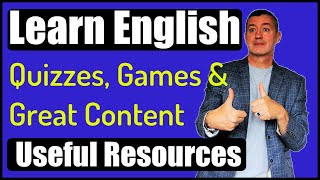Useful Resources For Learning English With Games, Quizzes, Texts, Audio And Notes Material