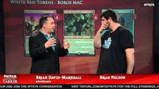 Pro Tour Khans of Tarkir Deck Tech: White Red Tokens with Brad Nelson